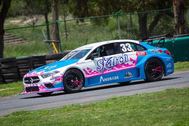 Salvador de Alba-Marco Marin, los más rápidos en las practicas de Mercedes-Benz