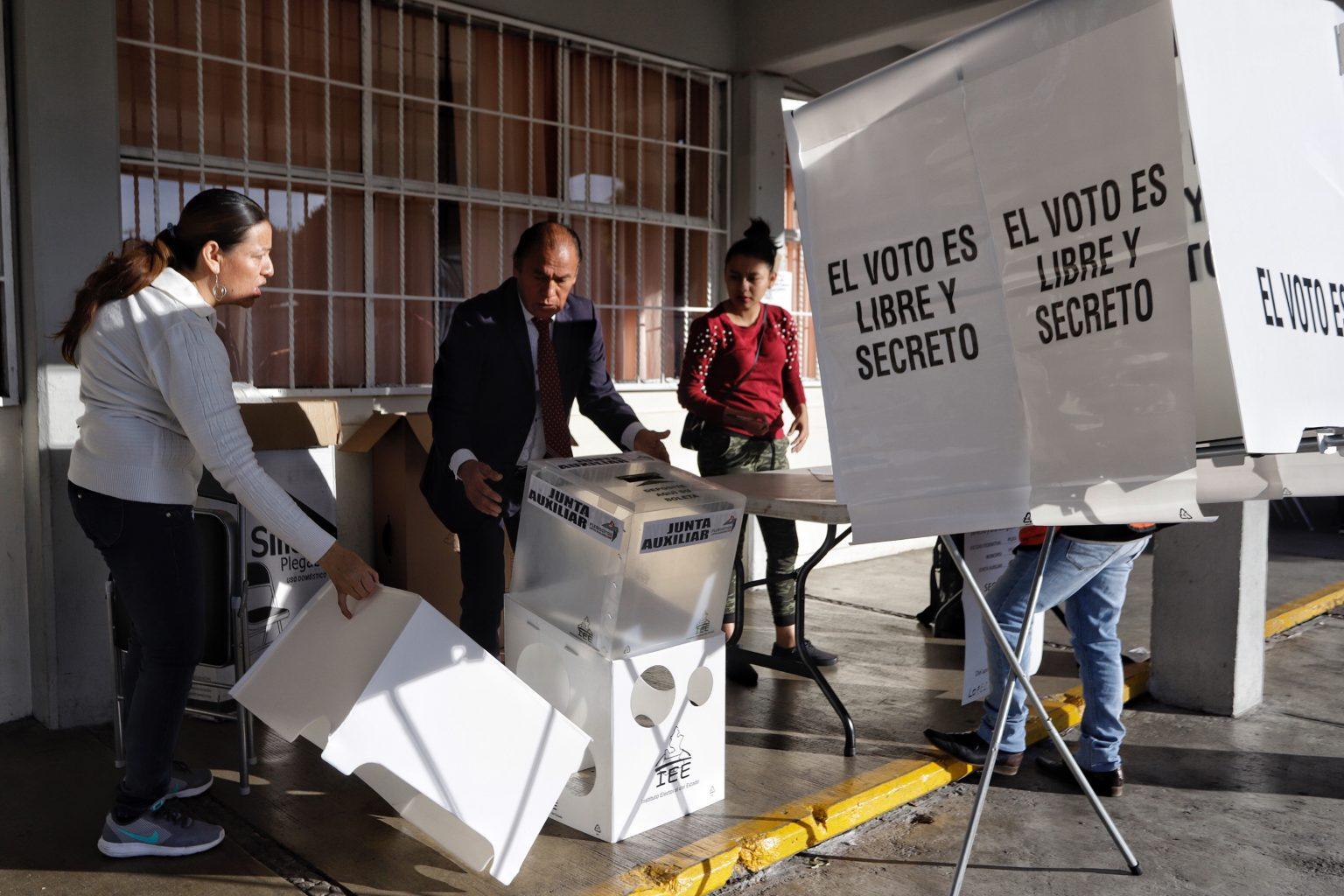 Todo está listo para que se lleve a cabo la jornada electoral del próximo 6 de junio en Puebla