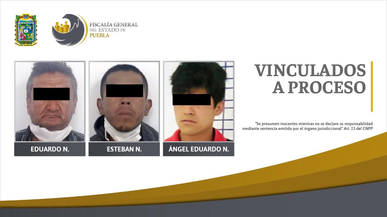 Tres vinculados a proceso por el delito de abuso sexual