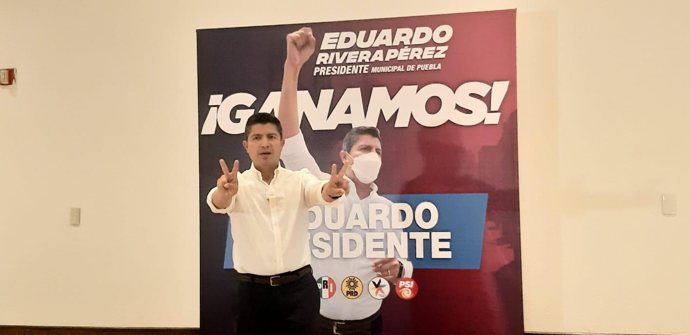 Trabajo conjunto con el gobernador Barbosa, reiteró Eduardo Rivera