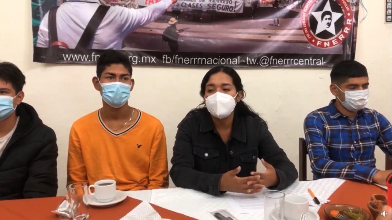 Antorcha Campesina denuncia falta de interés del gobierno federal por vacunar a estudiantes