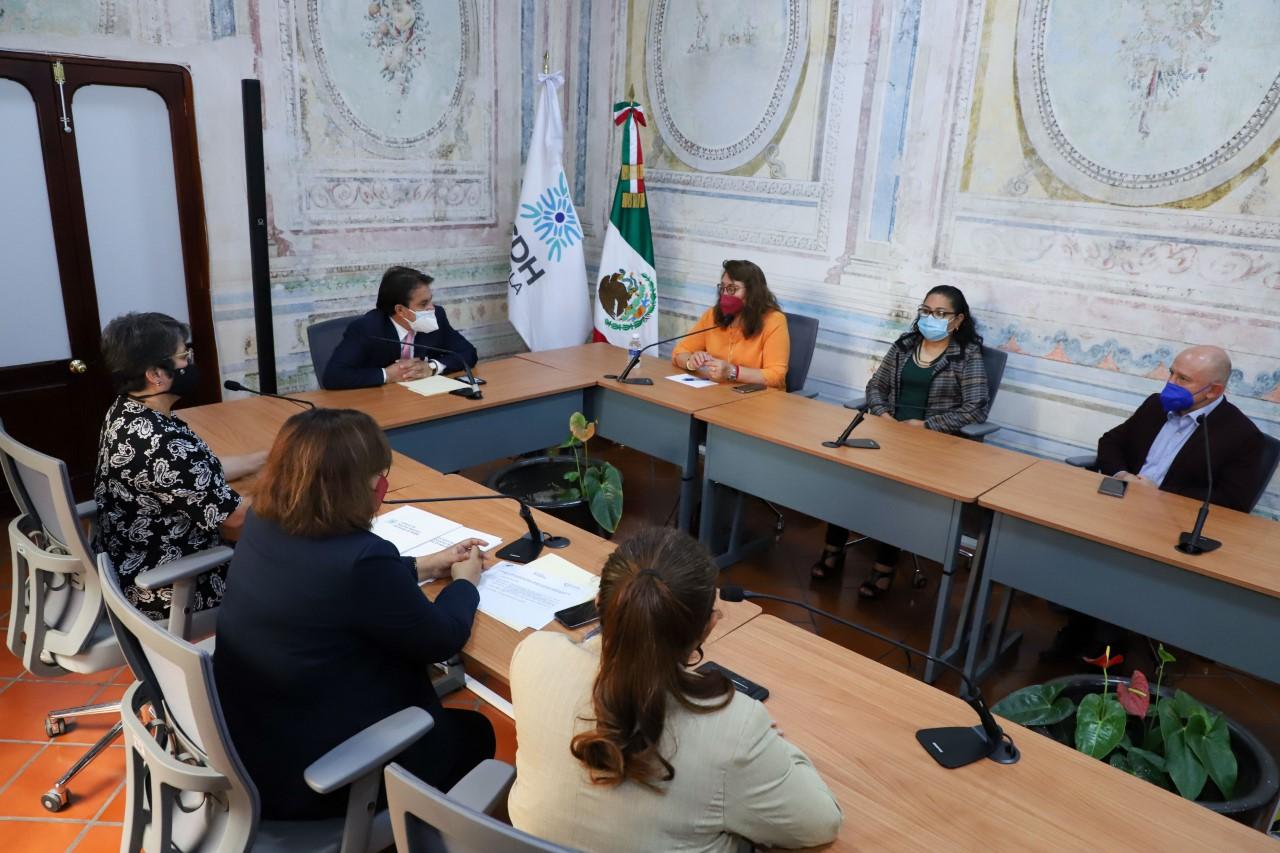 SIPINNA Puebla y Comisión de Derechos Humanos suman esfuerzos a favor de la niñez