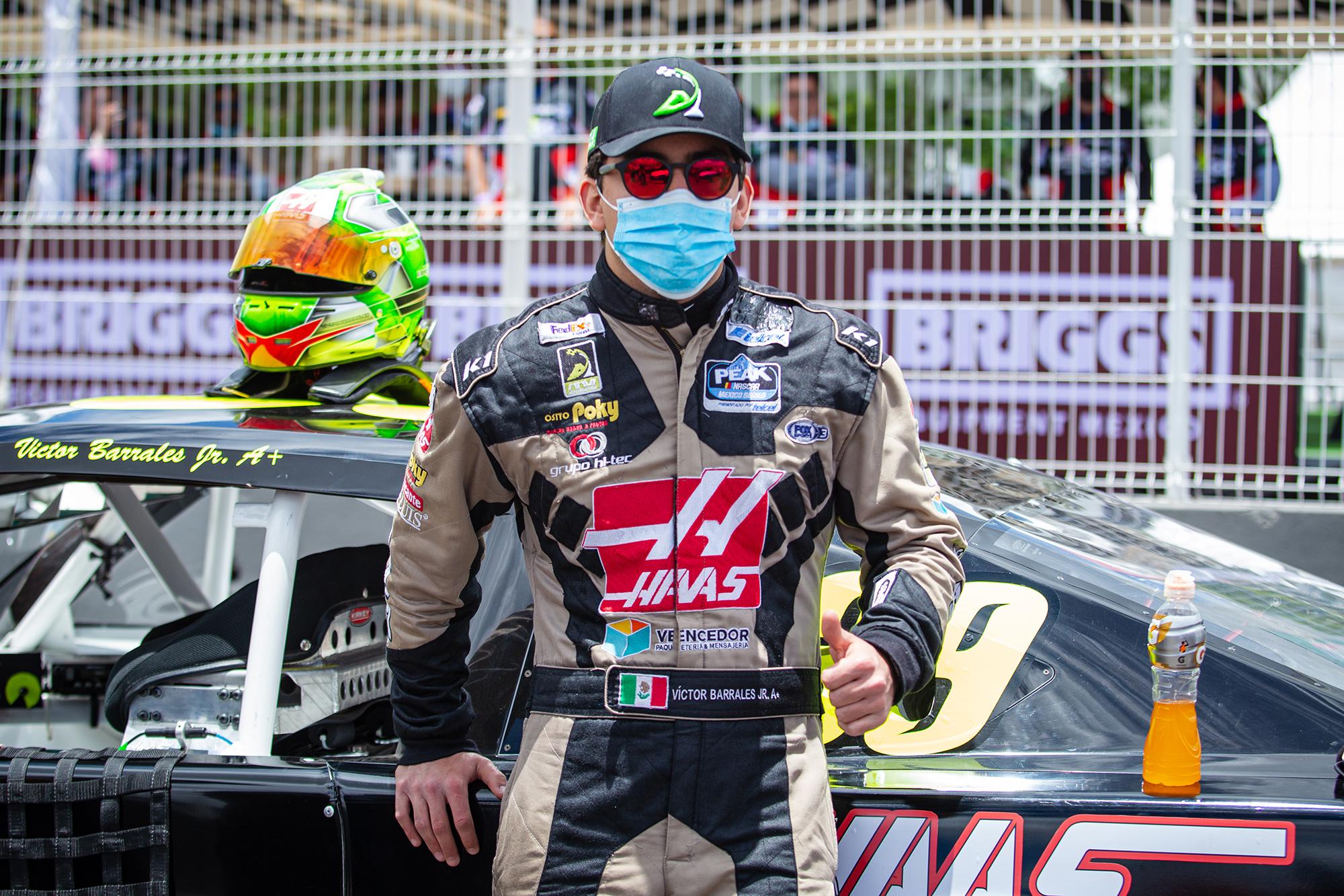 """""""Manolín"""" Gutiérrez, tuvo una dura prueba en segunda fecha de NASCAR México"""