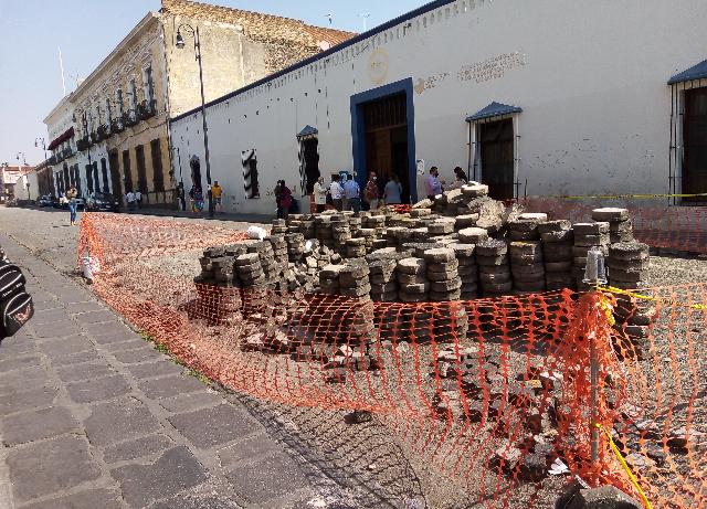 Obras en el Centro Histórico, detenidas por falta de permisos del gobierno: Infraestructura municipal