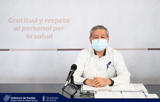 Video desde Puebla: Notifica Salud estatal un deceso más por covid-19