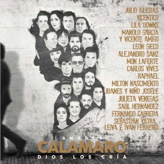 """-""""Dios los cría"""": el nuevo disco del icónico Andrés Calamaro con colaboración de grandes estrellas de la música en español"""