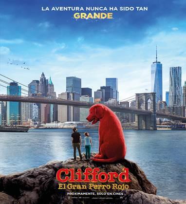 """""""Clifford el Gran Perro Rojo"""": próximamente en las salas cinematográficas"""