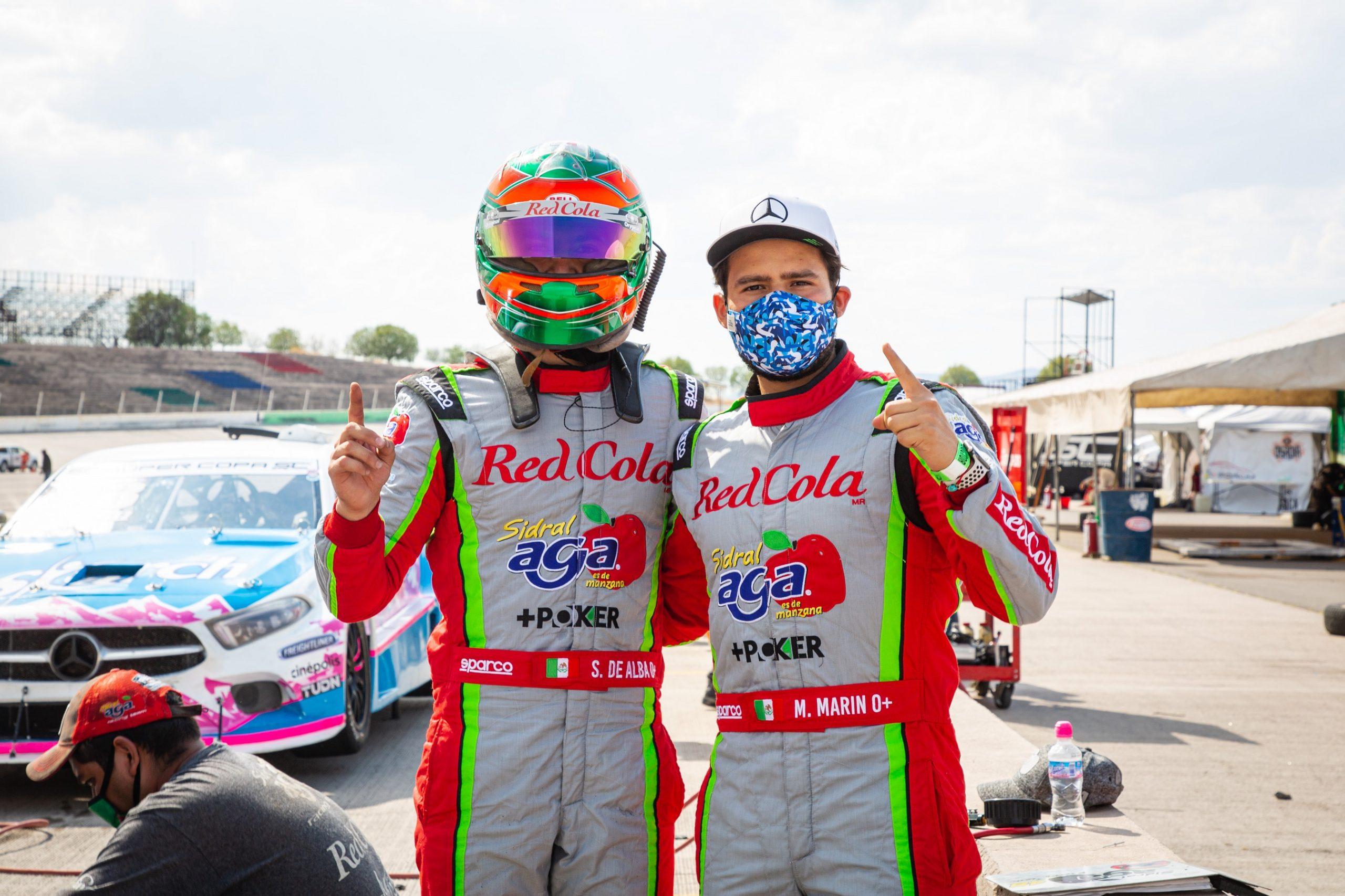 De Alba Jr. y Marco Marin lideran el campeonato de Mercedes-Benz Pro 1