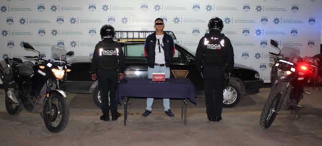 """De nueva cuenta, ubicó y detuvo policía municipal de Puebla a probable multiasaltante identificado como """"El Pacha"""""""
