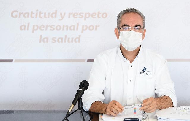 Video desde Puebla: Incrementan ligeramente decesos por covid-19, notifica Salud 7 este jueves y la entidad lleva 12 mil 532
