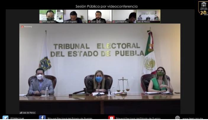 Tribunal Electoral de Puebla baja de la candidatura a Lalo Fake, Eduardo Rivera Santamaría