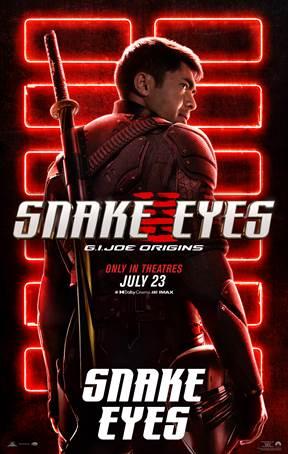 """Lanzan pósters animados y estáticos de los 8 personajes de """"G. I. Joe: Snake Eyes"""""""
