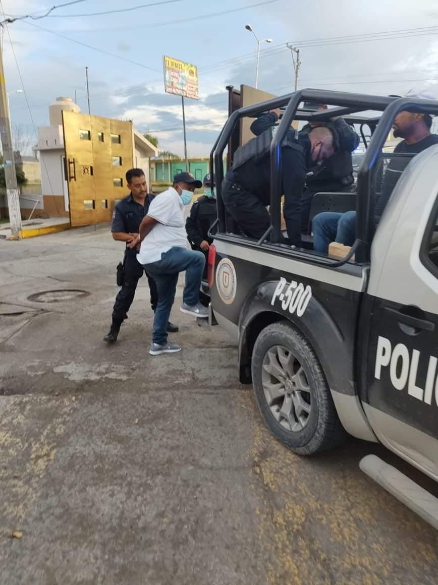 Detienen a sujetos armados en Izúcar