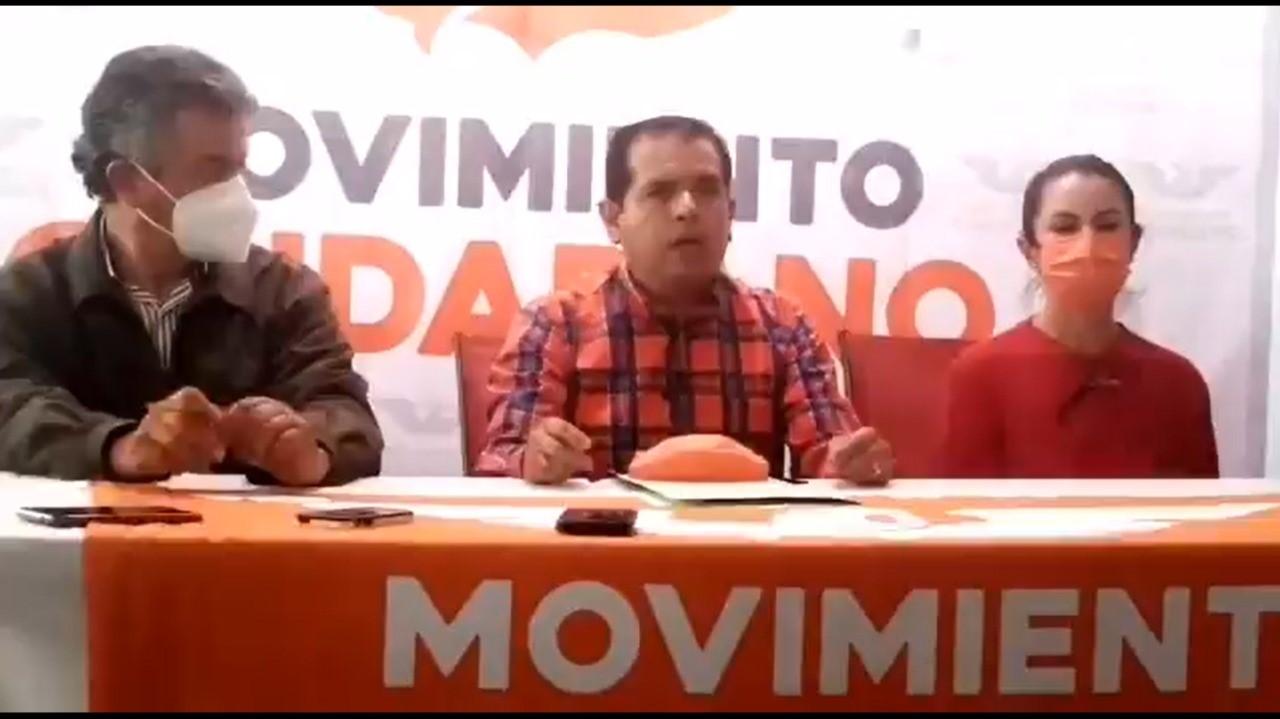 Candidato de MC en Texmelucan acusa que le quieren robar la elección