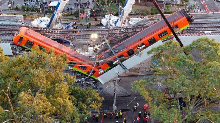 Peritaje preliminar apunta falla estructural en la obra de la Línea 12 del Metro de Ciudad de México