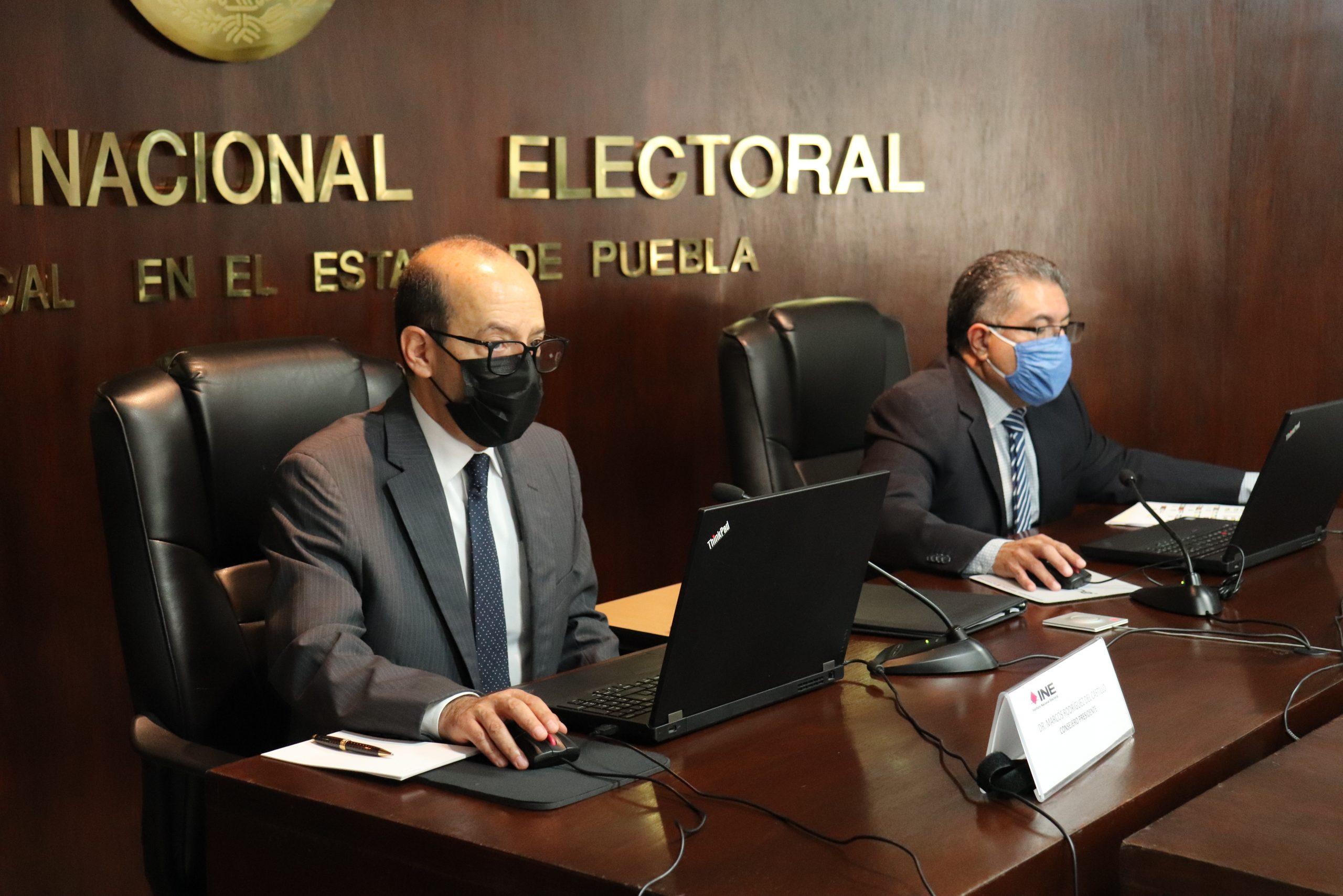 Inician cómputos distritales en el INE Puebla