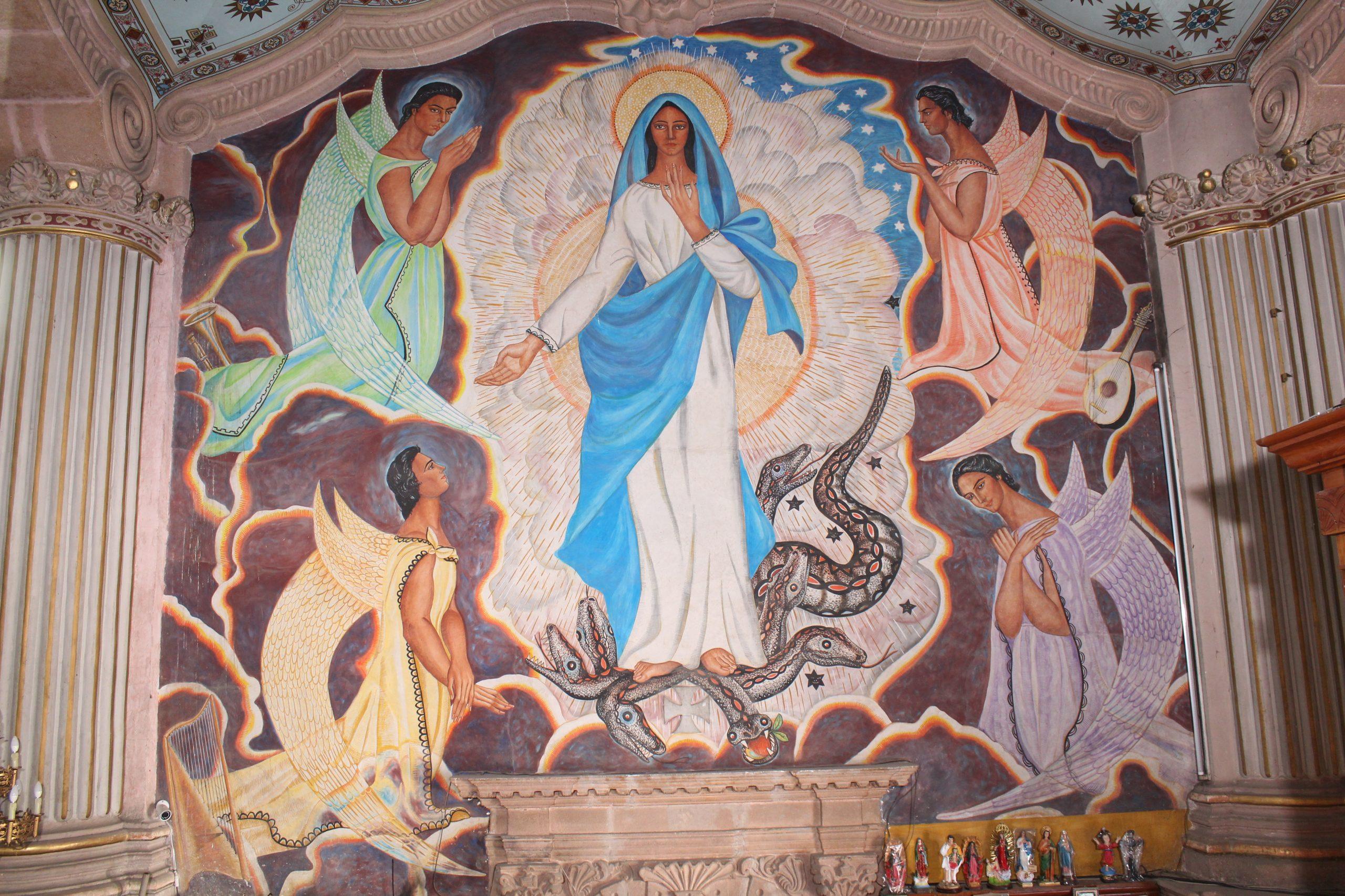 Recorrido virtual por los murales del Santuario