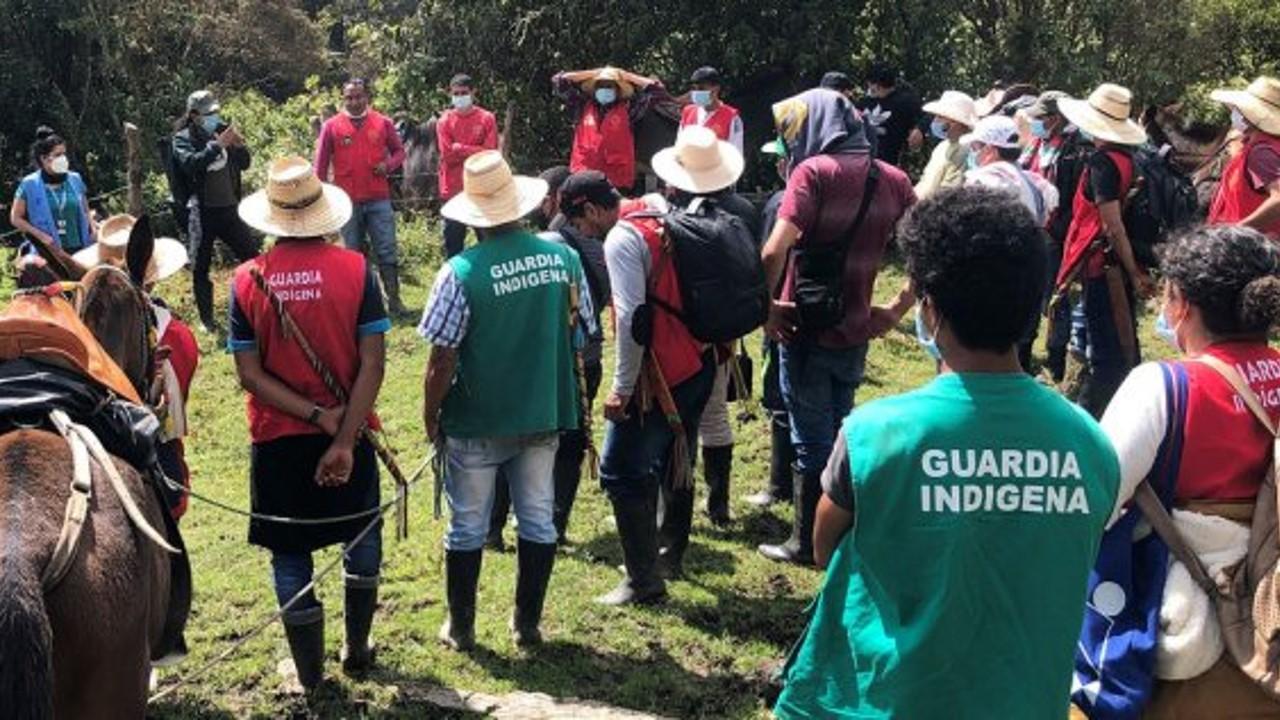 Colombia: Ex combatientes de las FARC ayudan a localizar minas y a restaurar un terreno para víctimas e indígenas