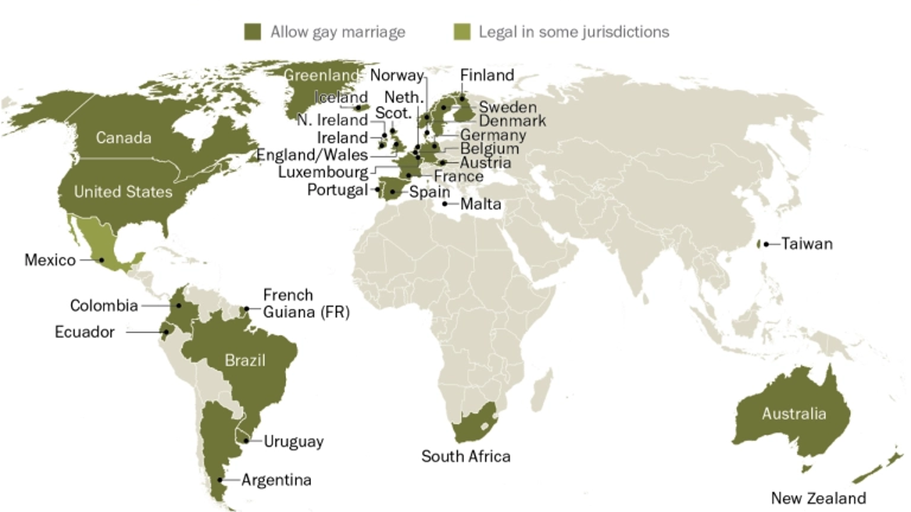 México mantiene el atraso en legalizar el matrimonio igualitario