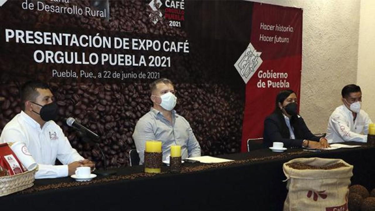 Realizará SDR segunda Expo Café Orgullo Puebla
