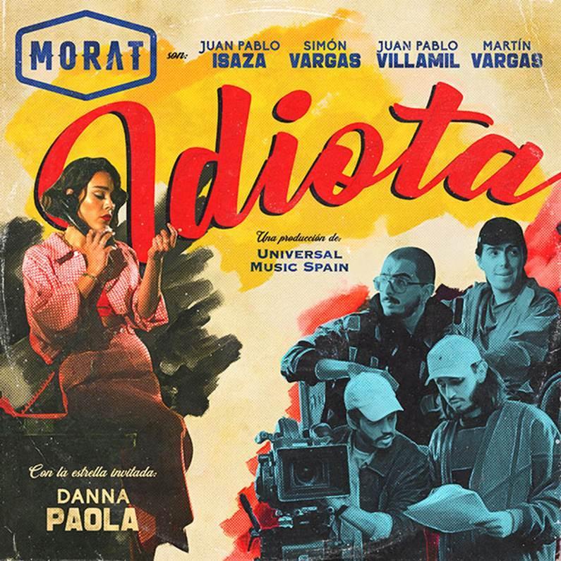 """Morat y Danna Paola unieron su talento en la canción """"Idiota"""""""