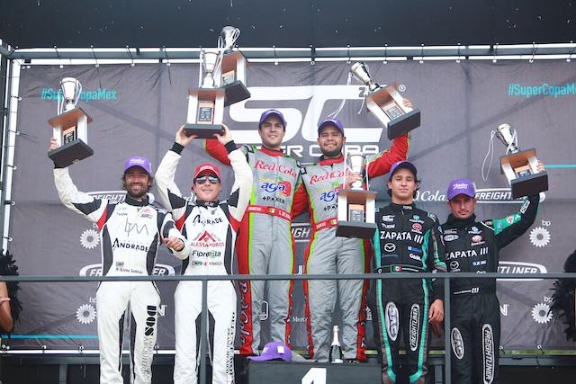 El Sidral Aga Racing, Team y Grupo Zapata triunfaron en la copa Mercedes-Benz en San Luis Potosí
