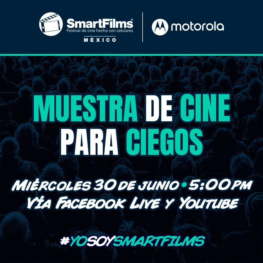 """SmartFilms México y Motorola México ofrecen la primera """"Muestra de Cine para Ciegos"""""""