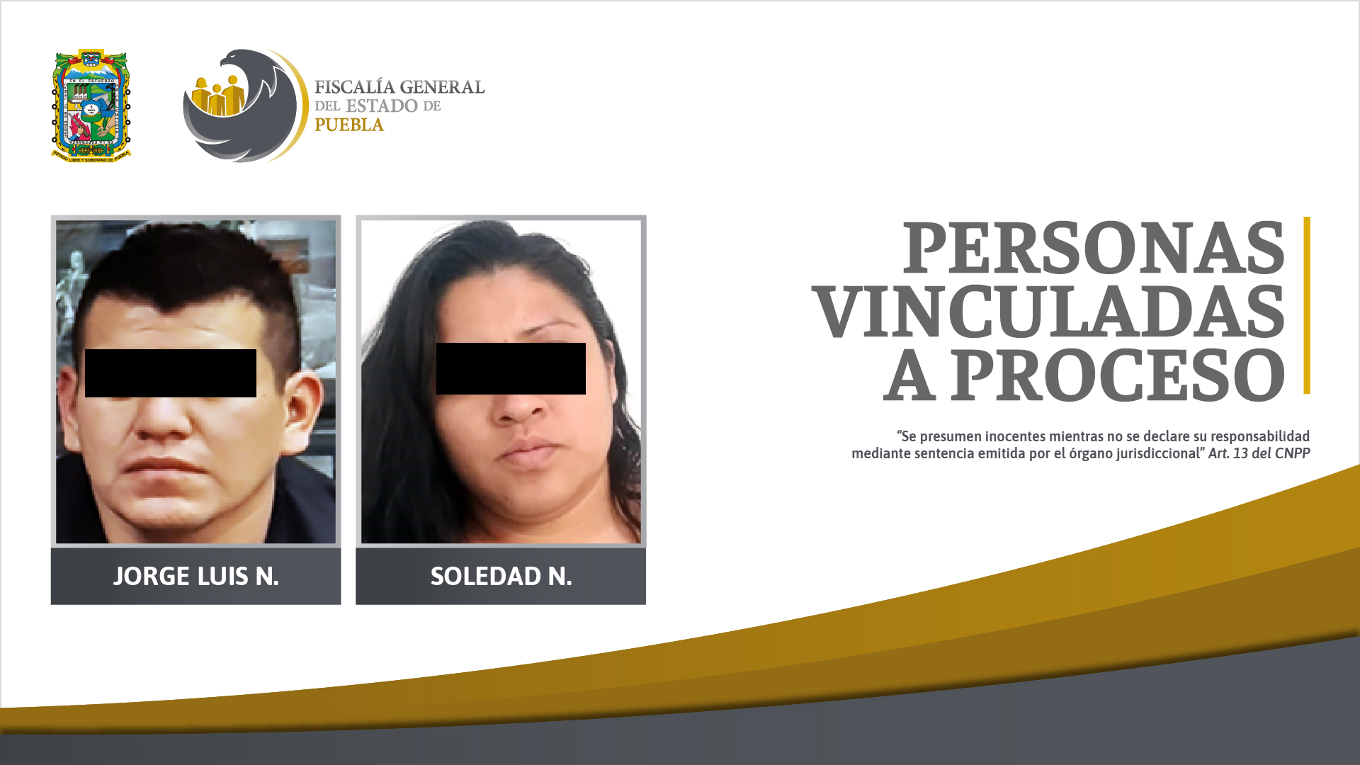 Ex coordinador de seguridad en Ajalpan y cómplice, vinculados a proceso