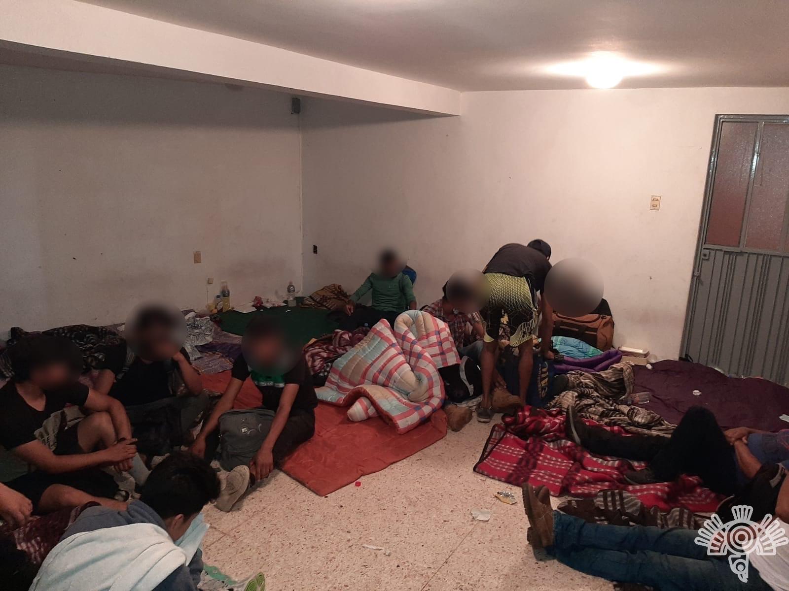 Rescata Policía Estatal a 240 personas procedentes de Centroamérica