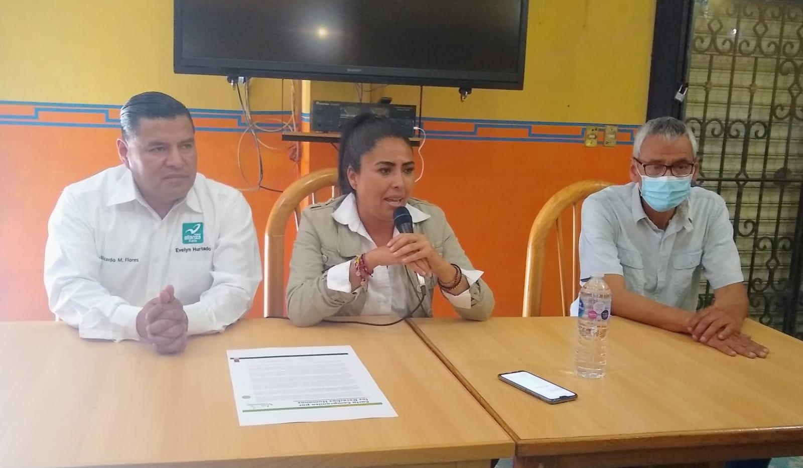 Convoca Evelyn Hurtado candidata a presidenta Municipal de Puebla por el Partido Nueva Alianza a sumar esfuerzos