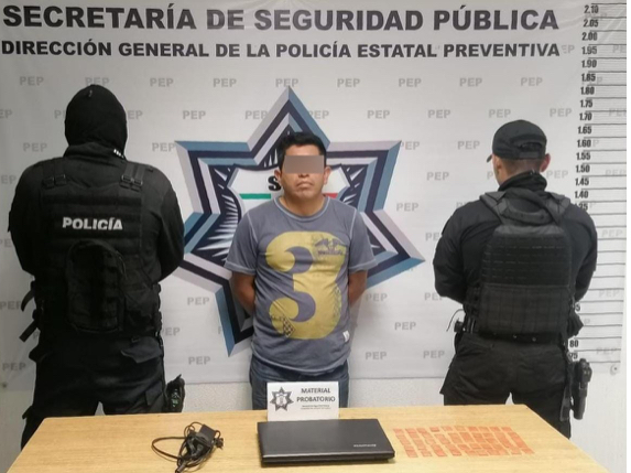 Captura SSP a presunto vendedor de droga y artículos robados