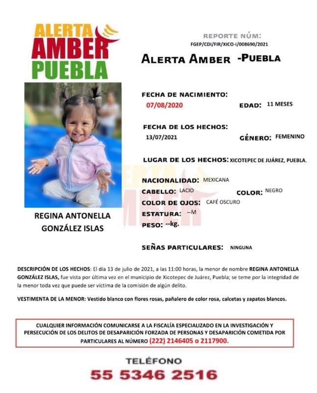 Servicio Social: Alerta Amber