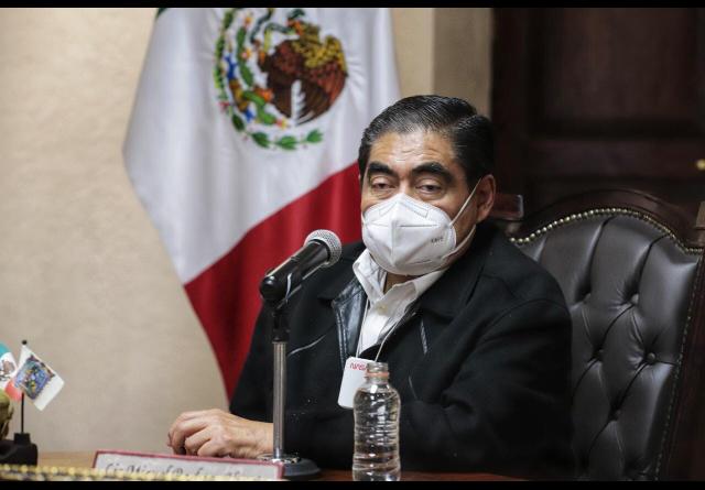 Video desde Puebla: Gobernador Barbosa indicó que junto a Eduardo Rivera recuperará el Cerro Amalucan