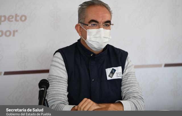Vido desde Puebla: Durante el fin de semana en la entidad fallecieron 13 personas por coronavirus y se contagiaron 608, alertó el titular de Salud