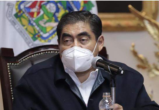 Video desde Puebla: Gobernador Barbosa informó que el domingo habrá Ley Seca