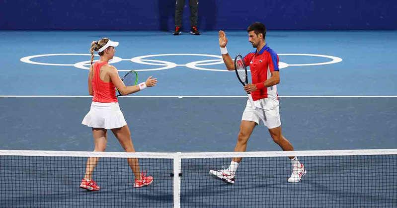 Novak Djokovic cierra un día de pesadilla, se queda sin oro en dobles