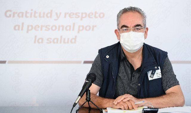 Fallecen en Puebla cuatro personas más y se contagian 173 de covid-19 en un día, indicó el titular de Salud