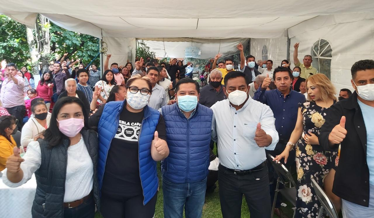 En Cuautlancingo los ciudadanos apostaron por los buenos gobiernos del PAN y con acciones lo demostraremos: Genoveva Huerta
