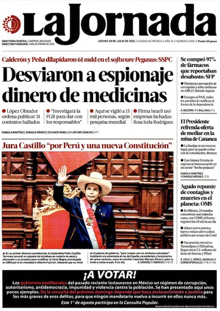 Ordena INE a La Jornada y a legisladores de Morena abstenerse de difundir la consulta popular