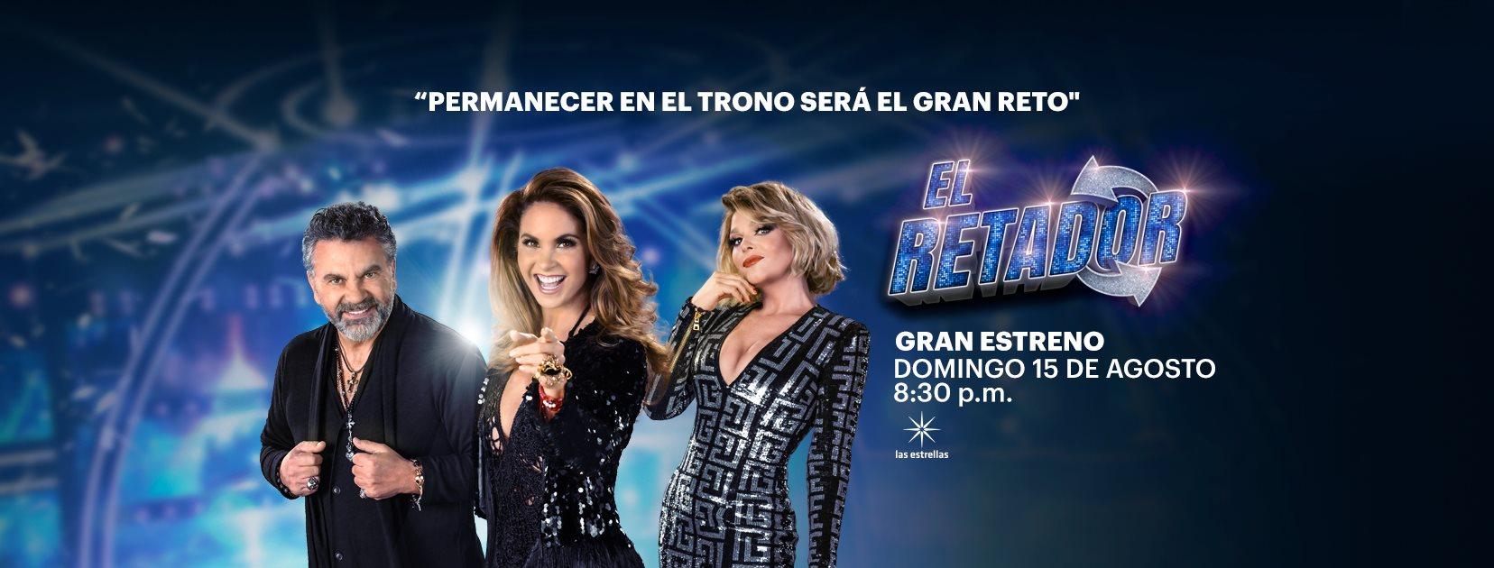 """""""El Retador"""": nuevo reality televisivo de competencia, producido por Rubén Galindo"""