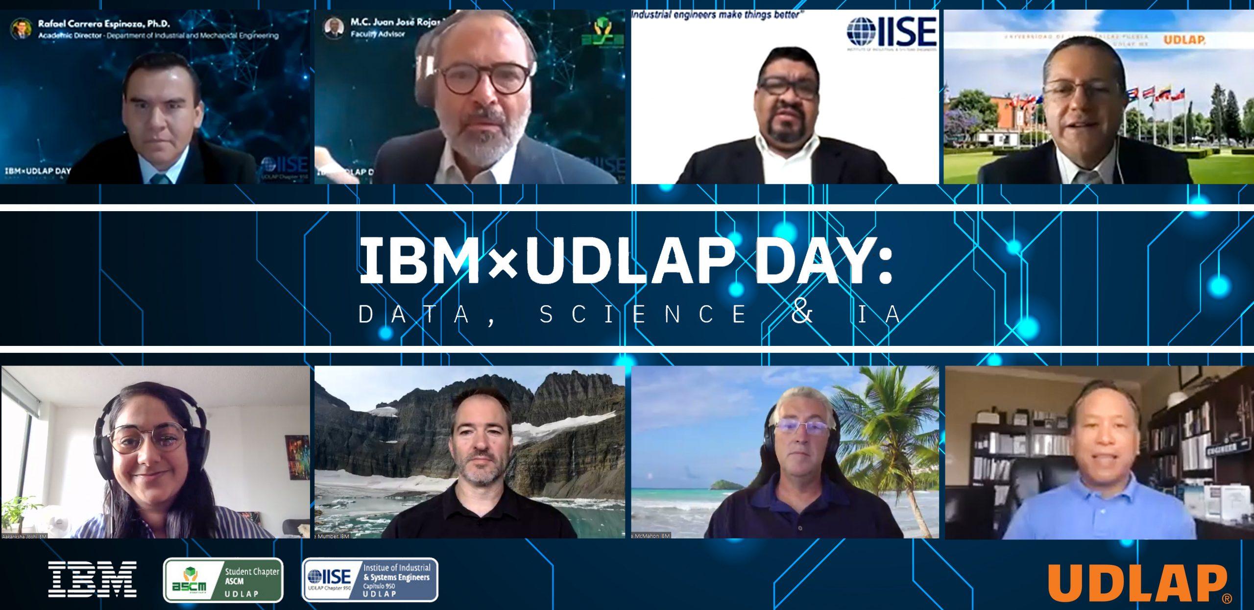 Estudiantes UDLAP realizan encuentro IBMxUDLAP Day: Data, Science & IA