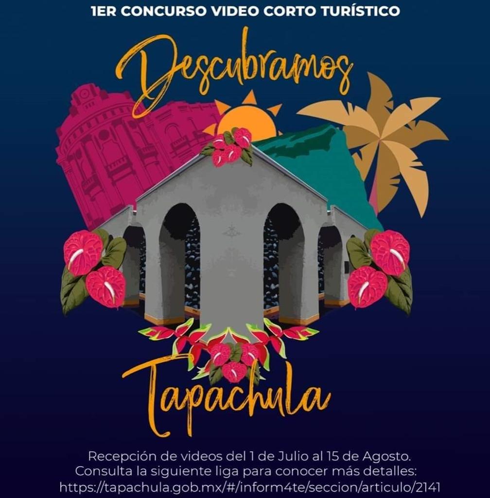 """Todo listo para el 1er Concurso de Video Corto Turístico """"Descubramos Tapachula"""""""