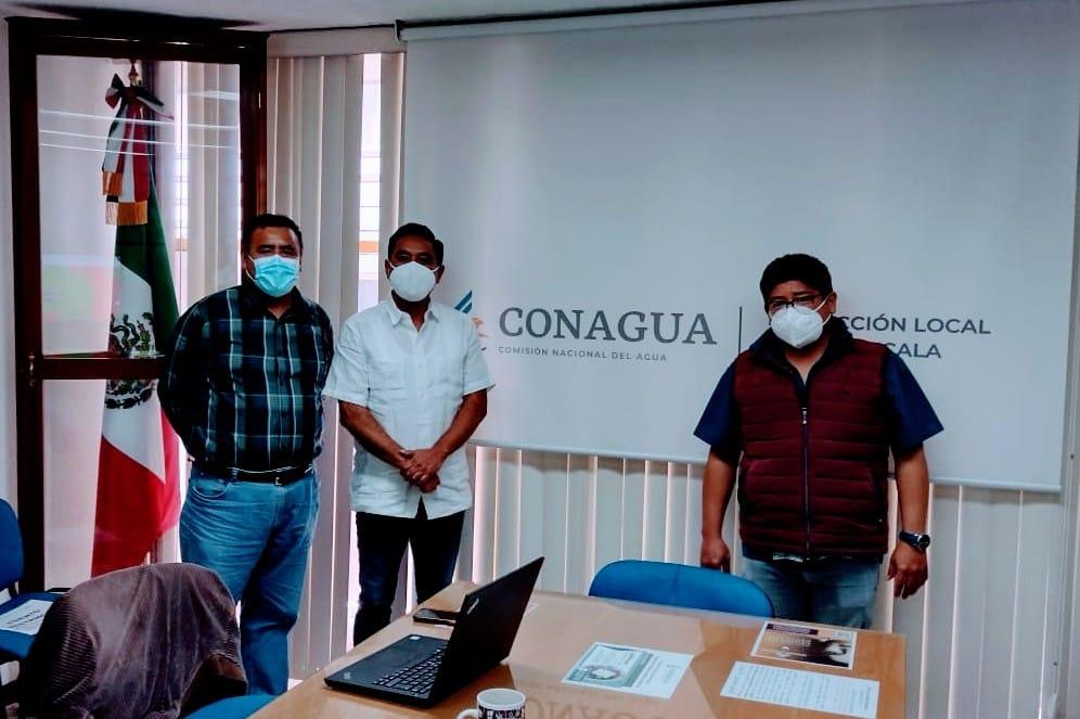 Inicia presidente electo reuniones con CONAGUA para resolver problemática en Ocotlán y Acuitlapilco