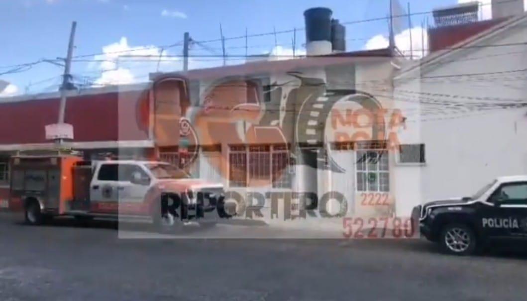 Video desde Puebla: Hallan cadáver en descomposición en Loma Linda