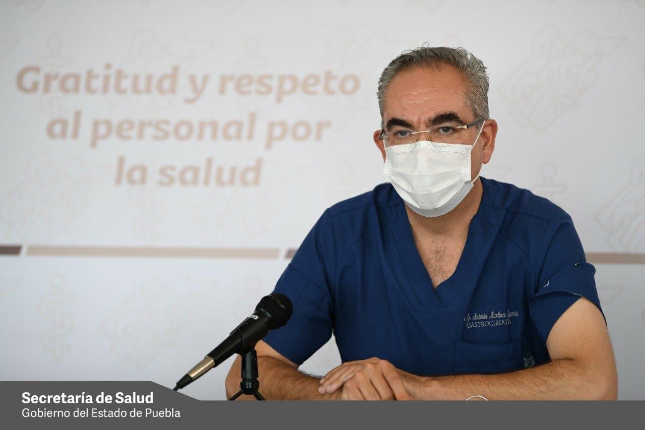Sube el número de hospitalizados por covid-19 en Puebla; hay 338: Salud