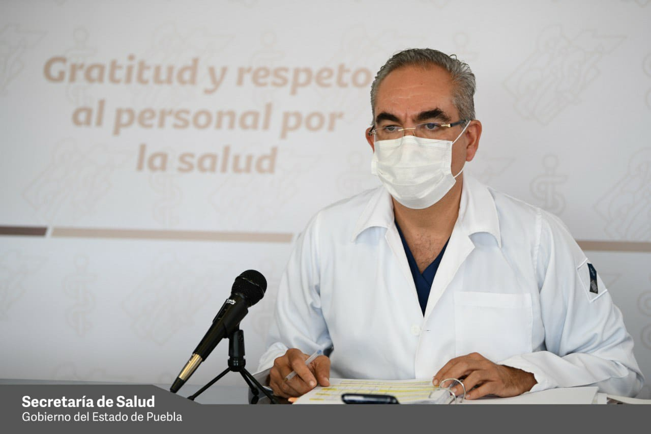 Ingresan 29 enfermos más de Covid19 a nosocomios de Puebla