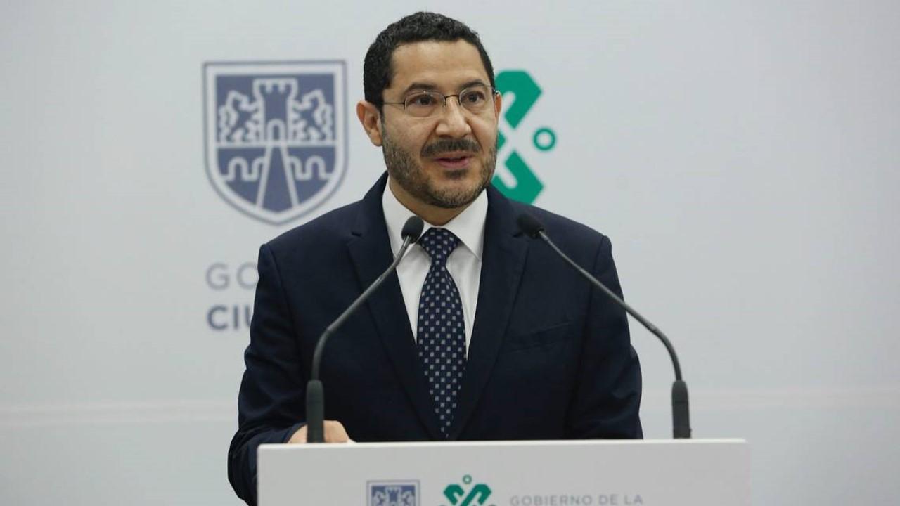 Celebra COPARMEX CDMX la incorporación del Senador Martí Batres Guadarrama como nuevo Secretario de Gobierno de la Ciudad de México