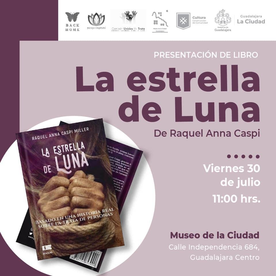 """En el marco del """"Día Internacional contra la Trata de Personas"""" se presentará el libro """"La Estrella de Luna"""""""