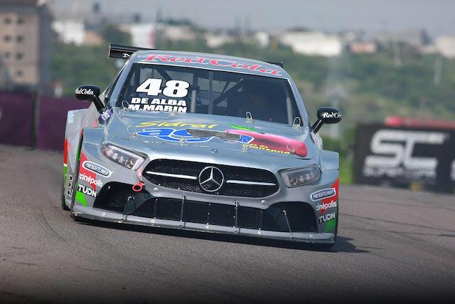 Nieto-Camarillo y de Alba-Marin marcaron las practicas en la copa Mercedes Benz pro 1