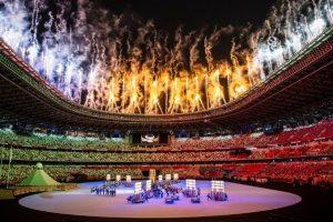 La ceremonia de los Juegos Olímpicos, al ritmo y el color de Japón